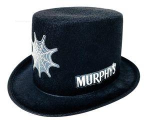 Murphys Bier St.Patricks Zylinder Hut - schwarz Party Festival Karneval Fasching