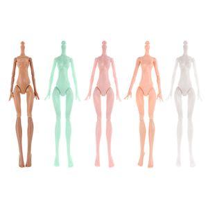 Nackte Puppenkörper Körper Zubehör für Monster High Puppen, verschiedene Hautfarbe