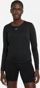 Nike W Nk One Df Ls Std Top Black/White M