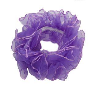 Haargummis Zopf-Halter in der Farbe Lila