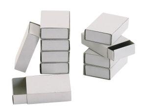 VBS Streichholzschachteln blanko, weiß, 10 Stk.