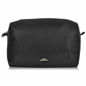 Durchdachte Kosmetik Tasche wasserabweisend KEANU :: 4 Einschubfächer Innen, RV Fach Innen, viel Stauraum :: Shower Bag Kulturtasche Washbag
