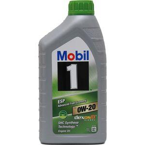 1 Liter MOBIL 0W-20 ESP ACEA A1/B1 Porsche C20 STJLR.51.5122 MB 229.71 VW 508 00 VW 509 00