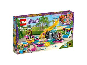 LEGO® Friends Andreas Pool-Party, 41374