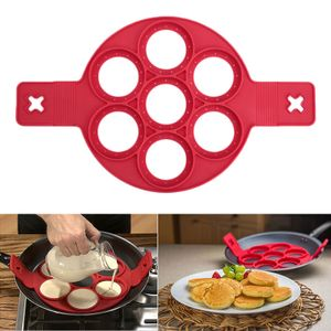 Kuchenform Nonstick Silikon Ei Ring Pancakes Pfannkuchen Form