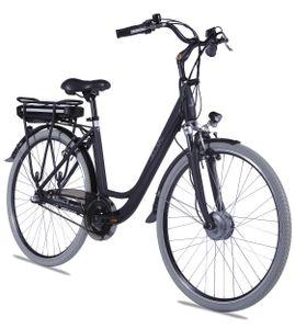 "LLobe E-Bike  28"" Alu City Bike Metropolitan JOY schwarz 36V/8Ah, 3-Gang Shimano"