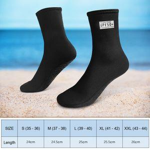 3mm Neopren Tauchsocken Anti-Rutsch UV-Schutz Strand Wassersocken zum Kajakfahren Surfen Schnorcheln Segeln Tauchen