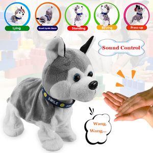 Plüsch Roboterhund Roboter Hund Sound Control Kinder Elektrisches Spielzeug