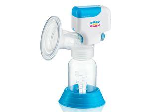 Elektrische Milchpumpe Einzelmilchpumpe inkl. Babyflasche Akku & Netzbetrieb