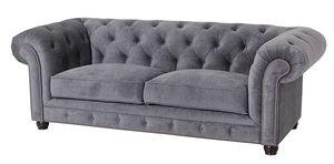 Max Winzer Orleans Sofa 2,5-Sitzer - Farbe: grau - Maße: 216 cm x 100 cm x 77 cm; 2911-3000-2044116-F07