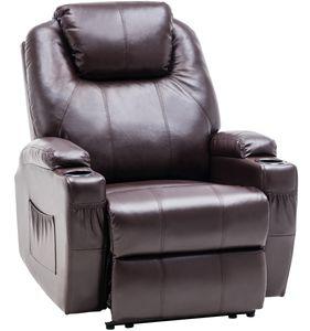 MCombo Elektrisch Relaxsessel Massagesessel Fernsehsessel Heizung 7061DB
