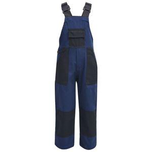dereoir Kinder Arbeitslatzhose Größe 98/104 Blau
