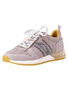 s.Oliver Herren Sneaker grau 5-5-13606-26 Größe: 45 EU