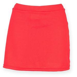 Finden & Hales Damen Sport Skort / Hosenrock mit feuchtigkeitstransportierendem Finish RW4162 (S) (Rot)