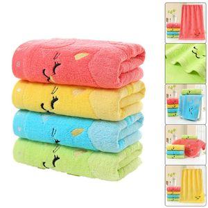 4 Stück Kinder Jacquard Stickerei kleines Handtuch Cartoon Baby Handtuch