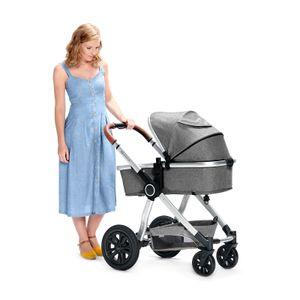 Kinderkraft Kinderwagen VEO 3in1 grau