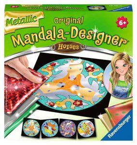 Metallic Mandala-Designer Horses Ravensburger 29761