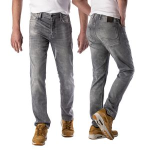 Jack & Jones Herren Jeans 12168306 Grey Denim