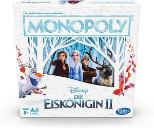 Hasbro Brettspiel Monopoly Disney Frozen 2, E5066100