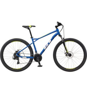 GT Aggressor Sport 27,5 Zoll Mountainbike Hardtail MTB Fahrrad 650B Mountain Bike, Farbe:blau, Rahmengröße:46 cm
