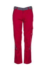 Größe 52 Damen Planam Highline Damen Bundhose rot schiefer schwarz Modell 2391