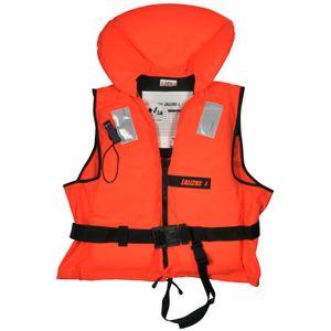 Schwimmweste 100N Rettungsweste Erwachsene Feststoffweste 90kg ISO 12402-4
