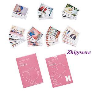 54 Stück BTS New Album Photo Cards Lomo-Karte 8.8*5.7cm