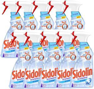 Sidolin Cristal Glasreiniger Reiniger Reinigen Glas10x500ml Sprühflasche