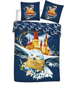 Aymax bettbezug Harry Potter 140 x 200 cm blau