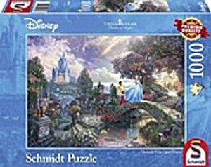 Schmidt Spiele 59472 - Disney Cinderella - Thomas Kinkade