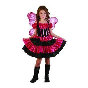 Schmetterling Mädchen Kinderkostüm 110/120