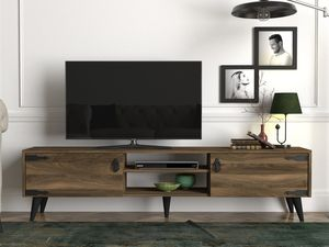 TV Lowboard Anthes Walnuss