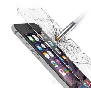 2X Apple iPhone SE 2020 / 8 / 7 / 6 / 6S  Panzerglas Schutzglas 9H Verbundglas Echt Glas Schutz Folie