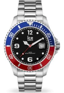 ICE Watch ICE steel United Silver Quarz Herren Armbanduhr - 016547 - Large