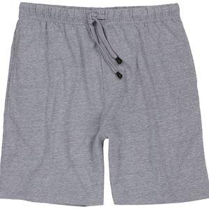 Schlafanzughose für Herren von ADAMO in Übergrößen XXL - 10XL kurz, Größe:7XL, Farbe:Graumeliert