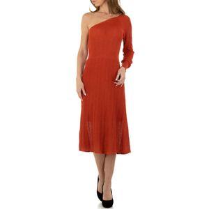 Ital-Design Damen Kleider Cocktail- & Partykleider Rot