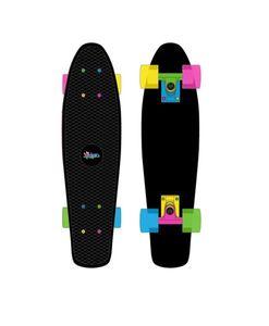 Muuwmi Skateboard Fun Neon