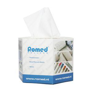 Romed Kosmetiktücher in Spenderbox 80 Tücher