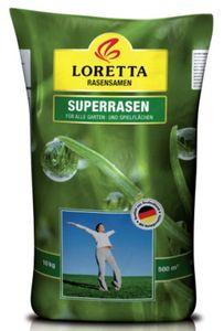 Loretta Superrasen, 10 kg, Rasensamen, Rasensaat, Grassamen
