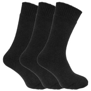 Herren Thermo-Socken, 3er-Pack MB430 (39-45 EU) (Schwarz)