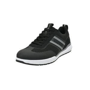 bugatti 322-98101-6900 DOLLAR - Herren Schuhe Sneaker - 1000-schwarz, Größe:45 EU
