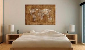 Wandbild - Verlorene Landkarte, Größe:90 x 60 cm
