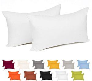Baumwolle Kissenbezug Kopfkissen mit Reißverschluss : Größe: 30x40cm