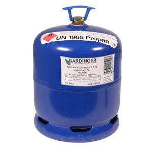 GARDINGER leere befüllbare 2,5kg Propangasflasche f.VW California (Alternative zur GAZ R907)