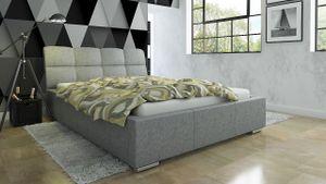 Polsterbett Bett Doppelbett CATELLO 200x200cm inkl.Bettkasten