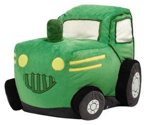Sitzsack BeanBag KIDDING Traktor grün 65x50x45
