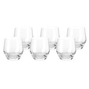 LEONARDO 069557 Puccini Whiskybecher 310ml, Glas, klar (6 Stück)