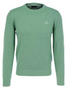 GANT Herren Pique Sweater, Farbe:Peppermint, Größe:XL