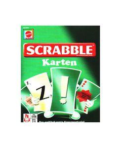 Mattel - SCRABBLE Karten, 2 - 6 Spieler