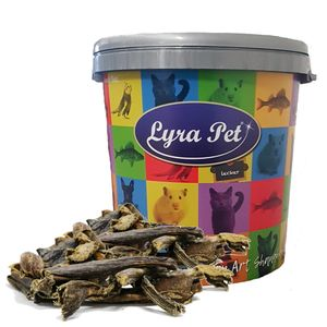 5 kg Lyra Pet® Rinderpansen 2 - 10 cm in 30 L Tonne